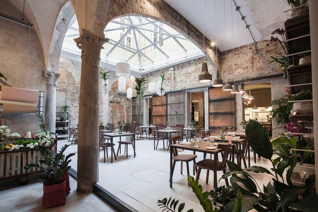 Restauracja La Menagere  Florencja Włochy